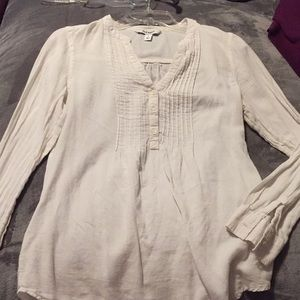 Old Navy Small White Button Up